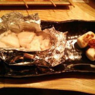 鯛の白子のホイル焼き(ふれあ (クワヤキウオサイフレア))