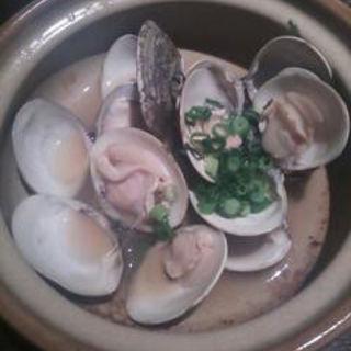 活蛤の酒蒸し(桜日和 (さくらびより))