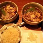 かしわ蕎麦(サラザンバードット (sarrasin bar dot))