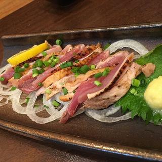 地鶏のタタキ(金の串)