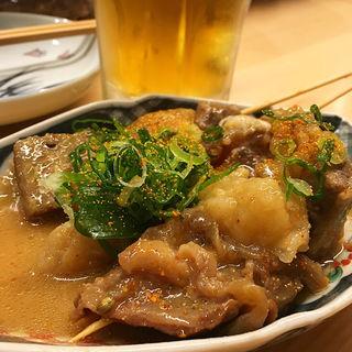 牛すじどて煮串(宝堂 kararsuma)
