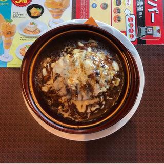 ハンバーグカレードリア(中辛口)(デニーズ 立川店 (Denny's))