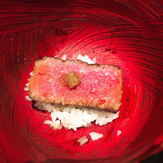 ステーキ丼(鳥茂 (とりしげ))