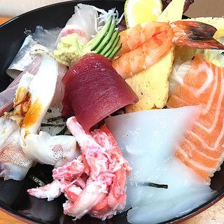 海鮮丼(まるよし )