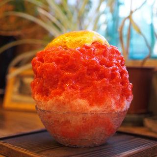 生いちご炙りブリュレ(プレミアム)(cocoo cafe (コクウカフェ))
