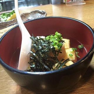 揚げ出し豆腐(海門 )