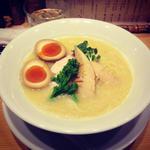鶏白湯SOBA+煮卵