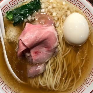 味玉煮干ラーメン(らぁめん小池)