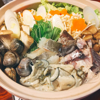 海鮮鍋(寿し 勝)