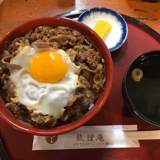 肉丼(狐狸庵)