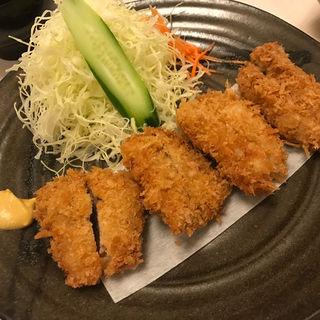 ひれのひと口カツ定食(かつれつ亭湊町店 )
