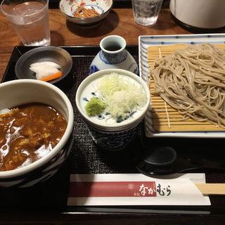 日替わり丼セット(蕎麦 旬菜 薬院 なかむら)