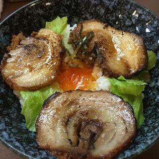 ラーメン定食(豚丼)(いっぷくラーメン)