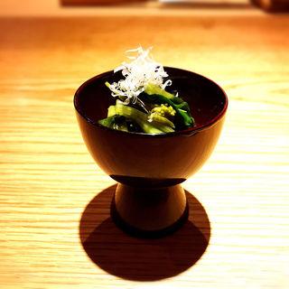山口さんの花わさびお浸し(高太郎 (こうたろう))