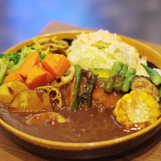 1日分の野菜カレー(Mr.ポルコン 姫路フェスタ店 )