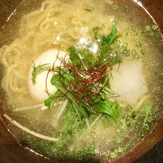 鯛ダシ塩ラーメン(六ヶ城 (ろっかんじょう))