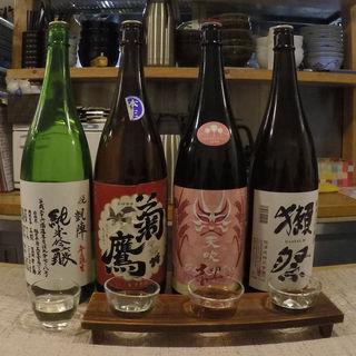 日本酒利き酒お試しセット(太門 (タモン))