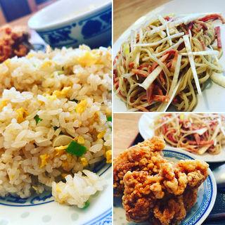 冷麺定食(中華料理 福禄 (チュウカリョウリ フクロク))