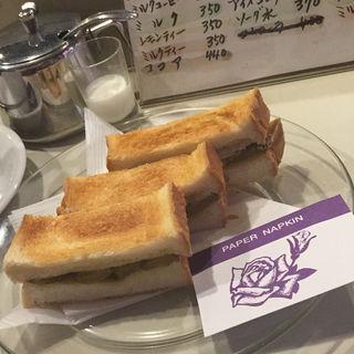 オニオントースト(珈琲アロマ)