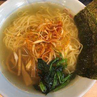 ネギ上湯麺(らーめん工房 雪濃湯(スールータン))
