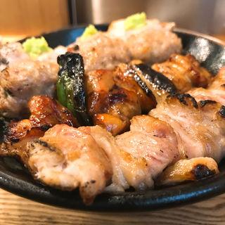 焼鳥4本丼(伊勢廣 京橋本店 (いせひろ))
