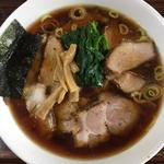 生姜醤油ラーメン(天王 (テンノウ))