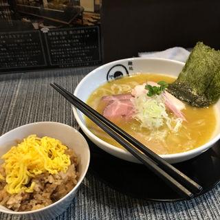 鶏白湯(麺処 蛇の目屋大文字)