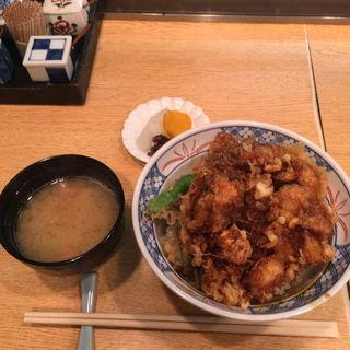 かき揚げ丼(てんぷら黒川)
