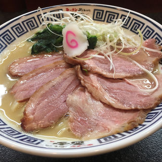 特製濃厚鶏白湯塩そば(ラーメン而今 中之島フェスティバルプラザ店)