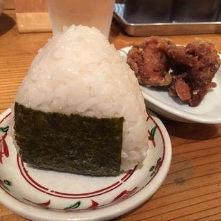 セット(おにぎり・唐揚げ)(AKAMARU食堂 (アカマルショクドウ))