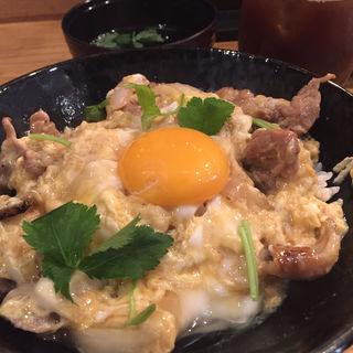 聖 特製金の親子丼(焼鳥 聖)