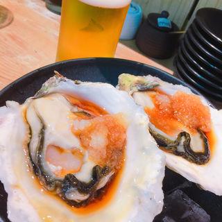 岩牡蠣(天ぷらとワイン 小島 (コジマ))
