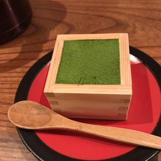 お抹茶のティラミス(SOHSOH JR駅前店 (-草草-))