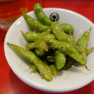 枝豆のペペロンチーノ(東京MEAT酒場 浅草橋総本店 (トウキョウミートサカバ))
