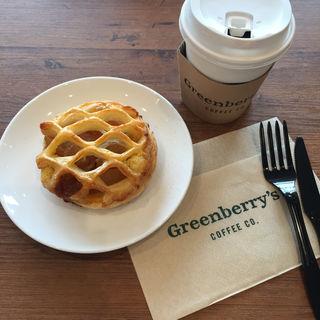 アップルパイ(Greenberry's coffee 蒲生四丁目店)