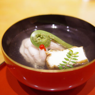 鮎並のお吸い物(桔梗屋 (ききょうや))
