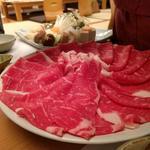 すきやきコース(国産牛ロース肉)
