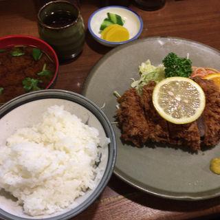 ヒレカツ定食(かつ平 (かつへい))