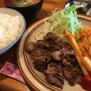 牛肉のバター焼き(むちゃちゃ )