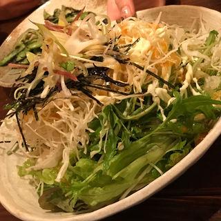 野菜サラダ(わらた )