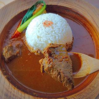 鹿肉カレー(Cafe はまぐり堂 )