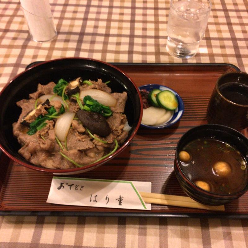 すき焼き丼(牛丼)