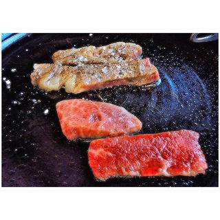 前沢牛霜降り焼肉(肉料理おがた )