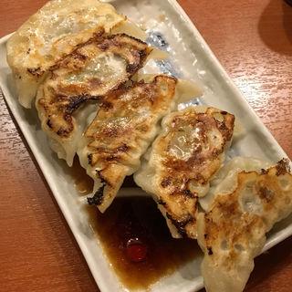自家製焼き餃子(八丁堀 もつ千 )