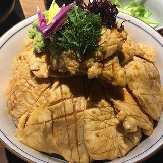 とりわさ丼(中)(よね家 (よねや))