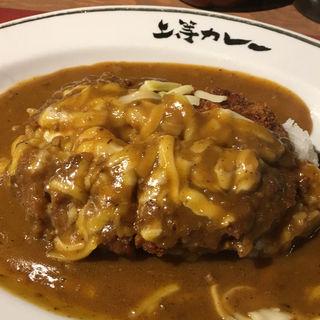 カツカレーチーズトッピング(上等カレー 渋谷本店 )