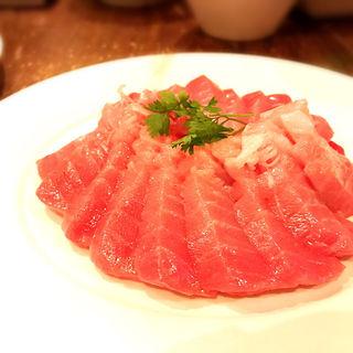 大間のマグロ(中トロ)(ristorante match&832)