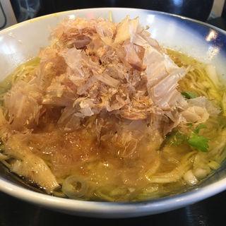 花鰹塩らぁ麺(ロックンビリーS1 (スーパーワン))