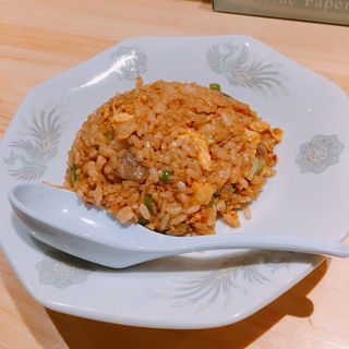 サバ醤油そばと半やきめし(サバ6製麺所 福島本店)