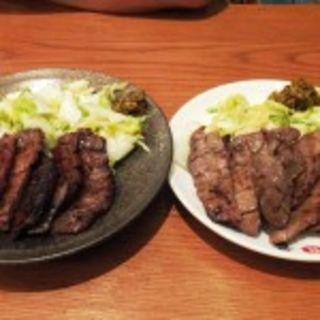 牛タン炭火焼き定食 1.5人前(味の牛たん喜助 グランツリー武蔵小杉店)